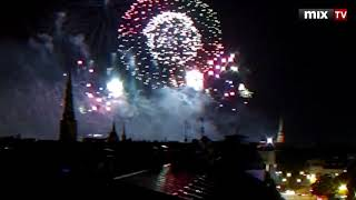 Салют на праздник города Риги #MIXTV