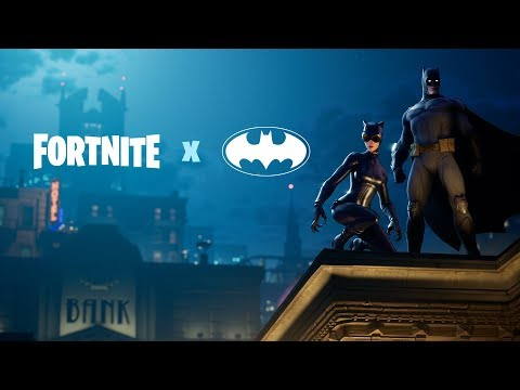 Fortnite X Batman Announce Trailer