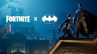 Fortnite X Batman Announce Trailer