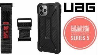 iPhone 11 Pro Max   UAG Monarch & Apple Watch Band