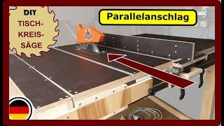Tischkreissäge: DIY Parallelanschlag + Extras Zum Selbst Bauen