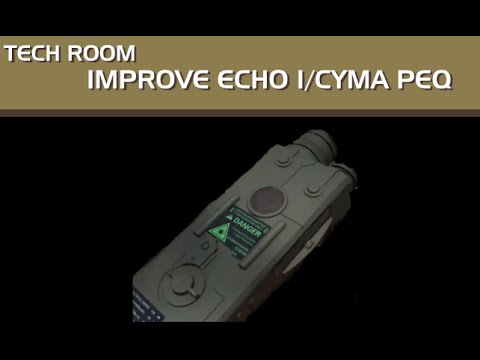 TECH ROOM: How to make the Echo 1/CYMA PEQ look better