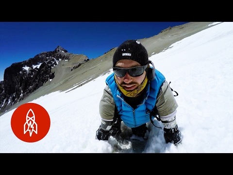 Horolezec bez rukou a nohou