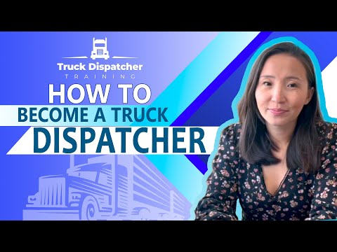 How To Become A Truck Dispatcher In USA Truck Dispatcher ...