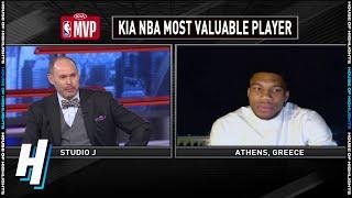 Giannis Antetokounmpo Wins MVP Award for 2019-20 NBA Season, Full Interview