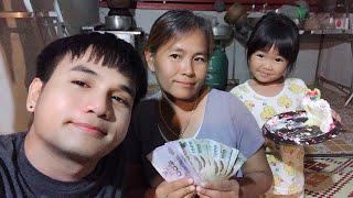 บ่าวเบียร์-ธาตุพนม มอบเงินปีใหม่ให้แม่ [ คลิปบันทึกความทรงจำ ] #ขอบคุณพี่ตั๊กแตน-ชลดาด้วยนะครับ