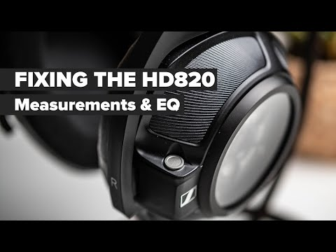 External Review Video OPGyBD7aWnA for Sennheiser HD 820 Headphone & HDV 820 Headphone Amplifier Bundle