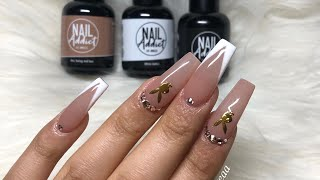Playboy Nails 🐰✨| Nail Addict LA Gel Polishes | Full Process | Acrylic Nails Tutorial