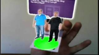 Photographer augmented reality business card most popular videos augmented reality business card examples reheart Choice Image