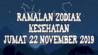 Ramalan Zodiak Kesehatan Hari Ini Jumat 22 November 2019