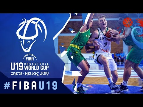 LIVE - Lithuania v Australia - FIBA U19 Basketball World Cup 2019