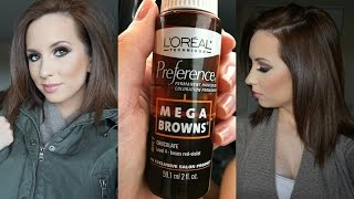 QUICK CHOCOLATE BROWN HAIR UNDER $10.00