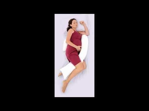 Cuscino per gravidanza e allattamento Nuvita Dreamgenii - Dormire sul fianco sinistro in gravidanza