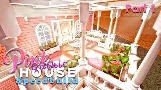 Bloxburg: Pink Gothic House Speedbuild Part 1