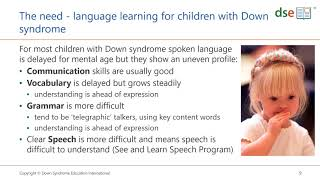 Introducing See and Learn Language and Reading