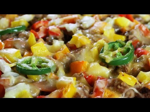 Nachos for Dinner – Healthy Low-fat