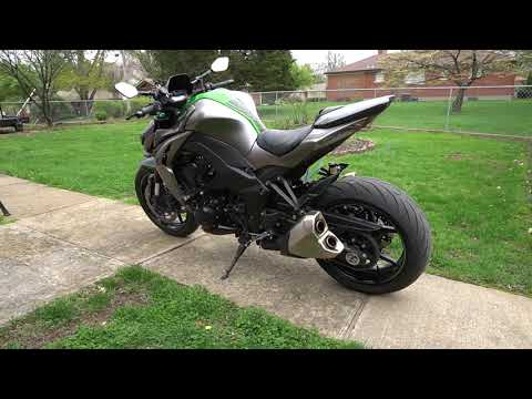 Kawasaki Z1000 Exhaust Sound Srr Biker Video 4gswaporg