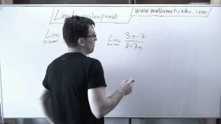 Limita posloupnosti - Klesající exponenciála 11.5.2014