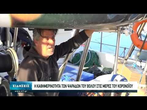 Η καθημερινότητα των ψαράδων του Βόλου στις μέρες του κορονοϊού   11/05/2020   ΕΡΤ