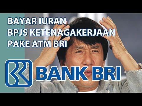 Cara Membayar Iuran BPJS Ketenagakerjaan di ATM BRI #bpjsketenagakerjaan #carabayariuranbpjs