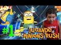 Jugando Minion Rush Despicable Me: Minion Rush Los Mini