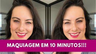 Maquiagem em 10 minutos!