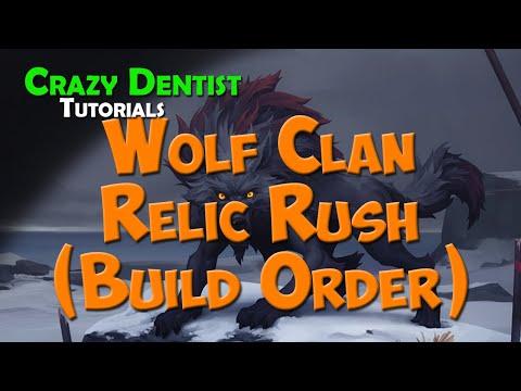 Wolf Relic Rush (Build Order) | Northgard