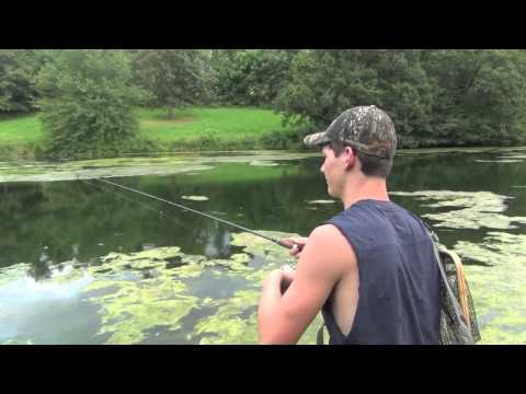 Largemouth Bass Fishing Pennsylvania 2013