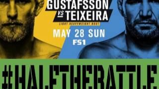 UFC Stockholm: Gustafsson vs Teixeira Bets, Picks, Predictions on Half The Battle