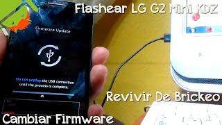 Flashear LG G2 Mini KDZ - CesarGBTutoriales