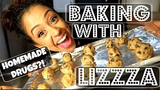 HOMEMADE DRUGS?! BAKING WITH LIZZZA | Lizzza