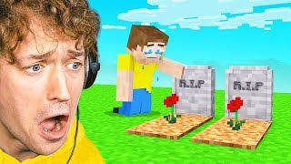 ALL MY MINECRAFT PETS DIED! (Bee Town)