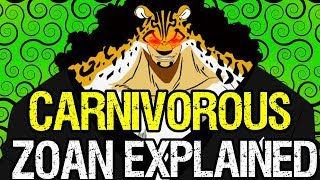 Carnivorous Zoan Fruits Explained! - One Piece Discussion