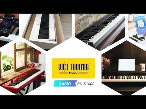 Review nhanh đàn piano điện Casio Privia PX-S1000
