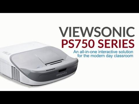 ViewSonic Máy chiếu PS750W