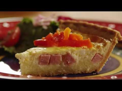 Video Quiche Recipes - How to Make Ham & Cheese Quiche