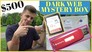 Dark Web Mystery Box Picture and Video Reaction