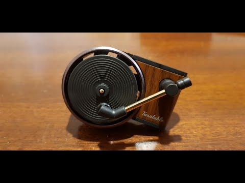 Banggood Sothing TITA Turntable Phonograph Car Fragrance - Unboxing