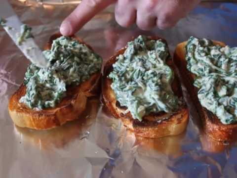Spinach Toast Recipe – What to do with Leftover Creamed Spinach