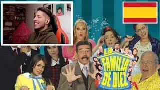 ESPAÑOL REACCIONA A UNA FAMILIA DE 10 ( CAPITULO 2 ) | JON SINACHE