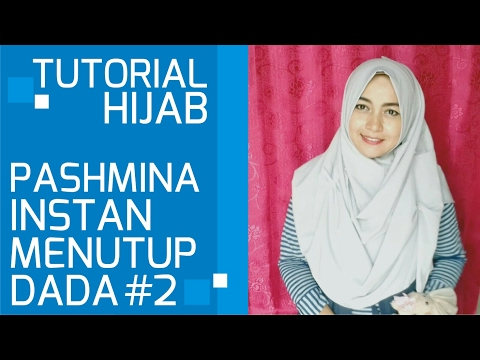 Video Tutorial Hijab Pashmina Instan Simple Menutup Dada #2