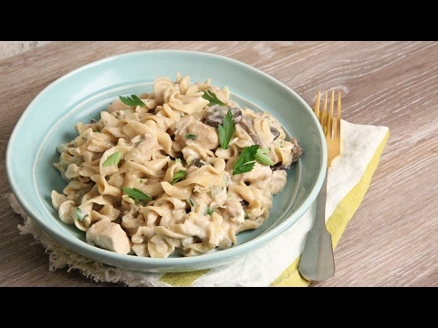 Crock Pot Chicken Stroganoff Recipe | Episode 1137