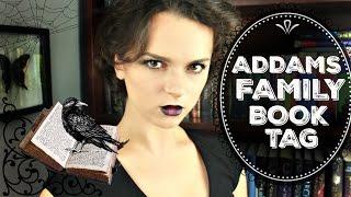 Addams Family Book Tag