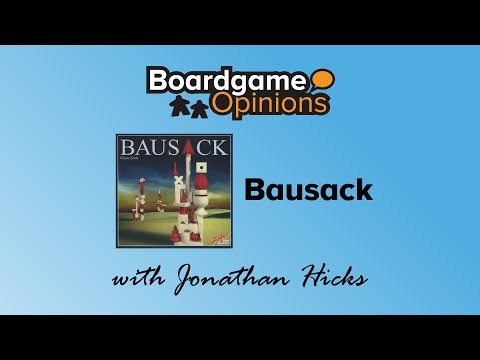 Boardgame Opinions: Bausack