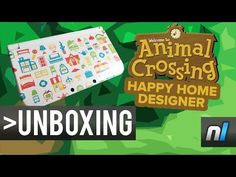 Animal Crossing: Happy Home Designer New Nintendo 3DS XL Unboxing