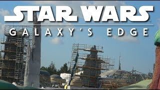 The story of four Domes | Galaxy's Edge construction |  Pt. 17212-01-18