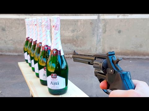 EXPERIMENT GUN vs CHAMPAGNE