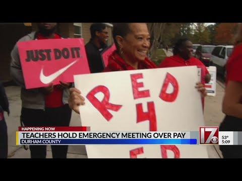 Durham County teachers meet to discuss funding