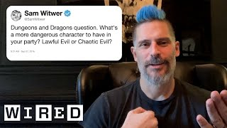 Joe Manganiello Answers Dungeons & Dragons Questions From Twitter | Tech Support | WIRED