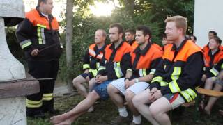 preview picture of video 'Feuerwehr Olching - Cold Water Challenge 2014'